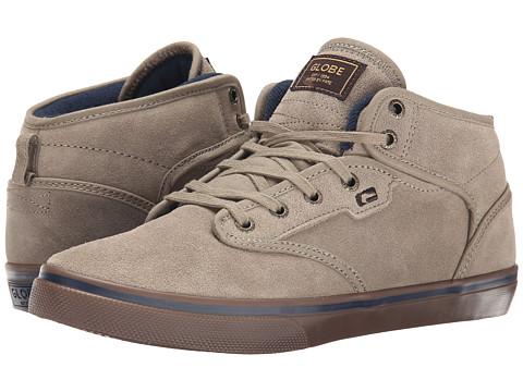 Globe - Motley Mid (Sand/Navy) Men's Skate Shoes
