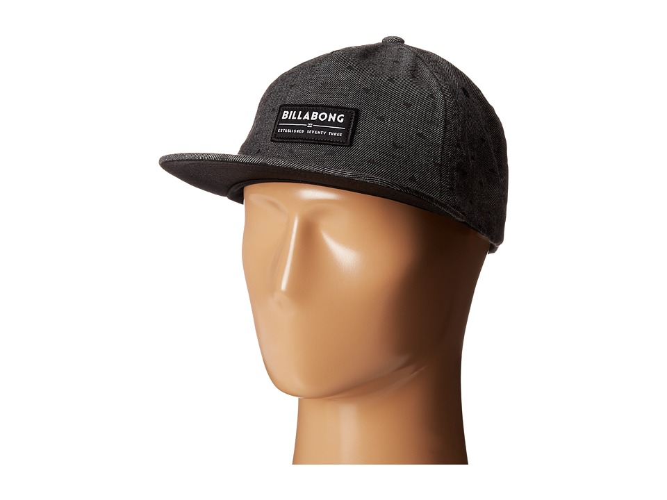 Billabong - Rider Hat (Black) Caps