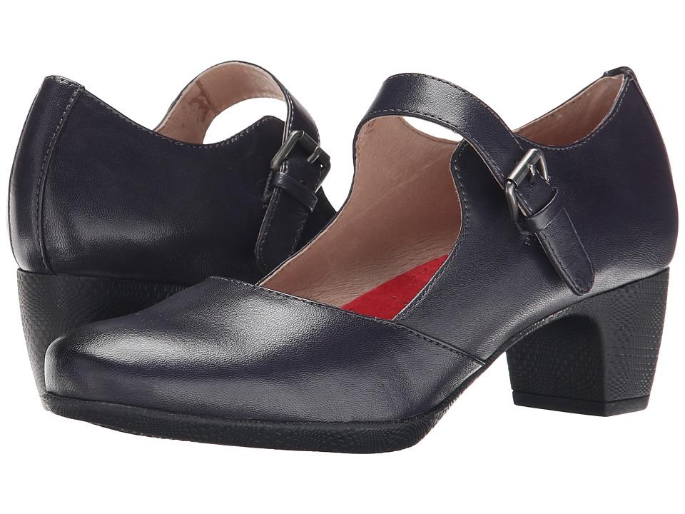 SoftWalk - Irish (Navy Kid Leather) High Heels