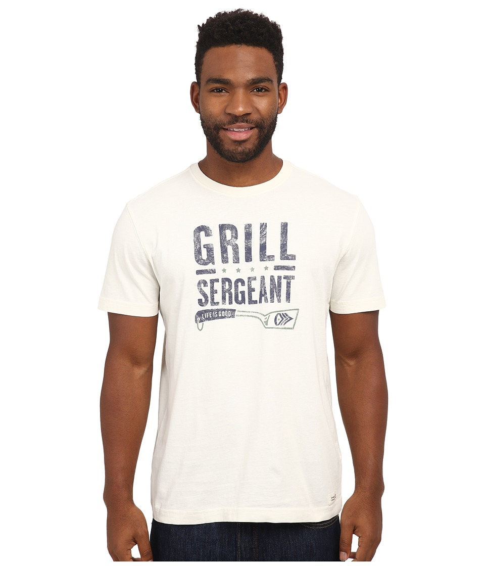Life is good - Crusher Tee (Simply Ivory/Grill Serg Spatula) Men's T Shirt