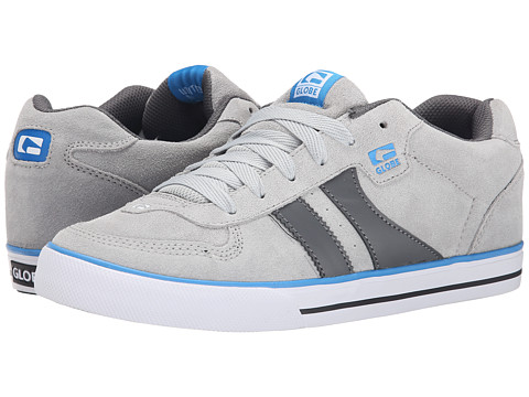 Globe - Encore (Light Grey/Blue) Men's Skate Shoes