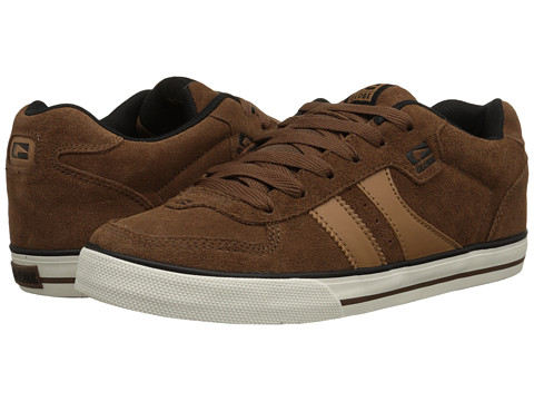 Globe - Encore (Dark Brown) Men's Skate Shoes