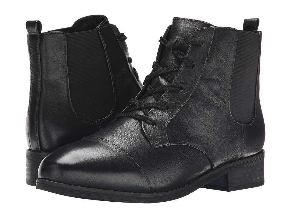 SoftWalk - Miller (Black Soft Wax Tumbled Leather) Women