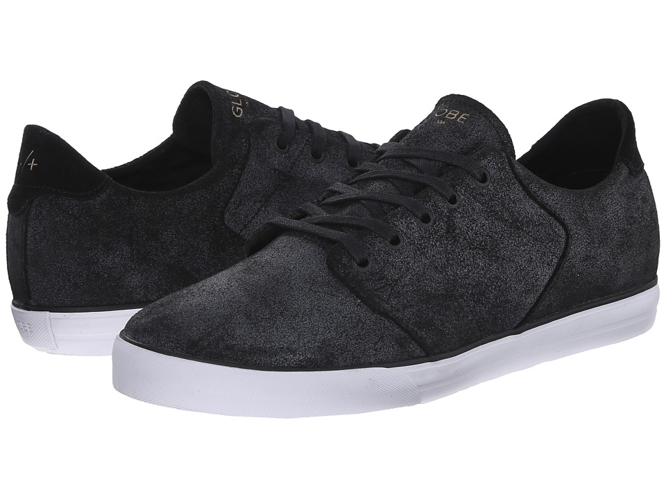 Globe - Los Angered Low (Distressed Black) Men's Skate Shoes