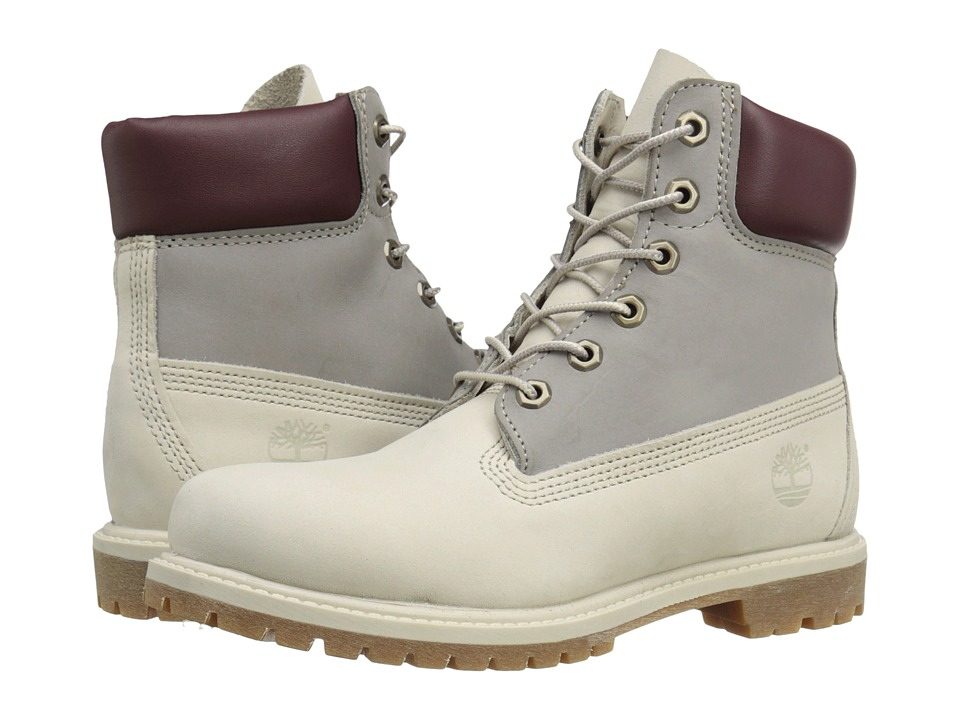 Timberland - Icon 6 Premium Boot (Light Grey Nubuck Tri Color) Women's Boots