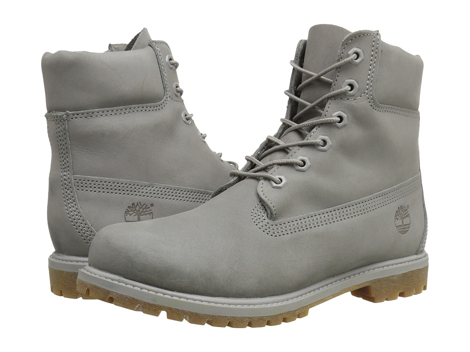 Timberland - Icon 6 Premium Boot (Grey Nubuck Mono) Women
