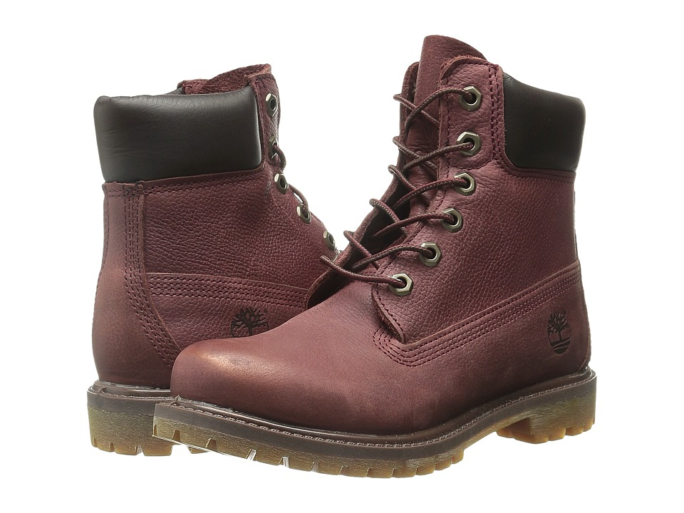 Timberland - Icon 6 Premium Boot (Port Rugged/Metallic Finish) Women