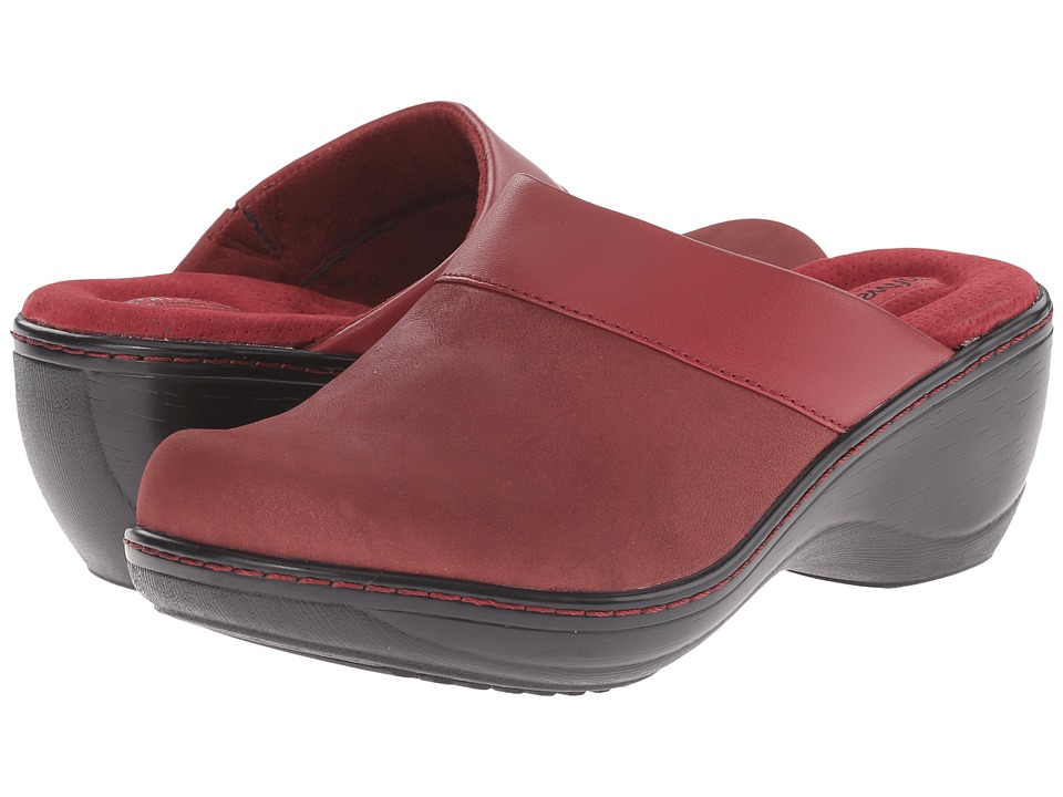 SoftWalk - Murietta (Bordeaux/Dark Bordeaux Distressed Nubuck Leather) Women