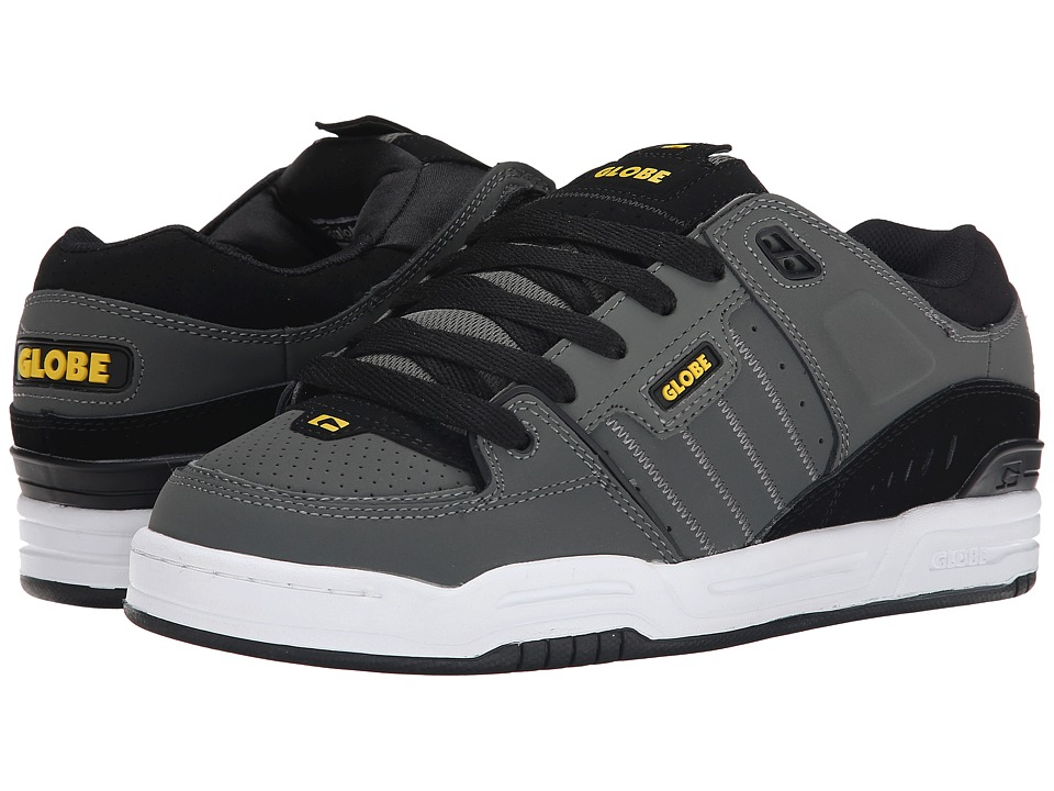 Globe - Fusion (Charcoal/Black/Yellow) Men