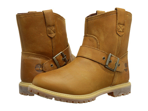 Timberland - 6 Premium Pull-On Waterproof Boot (Wheat Rugged) Women's Boots