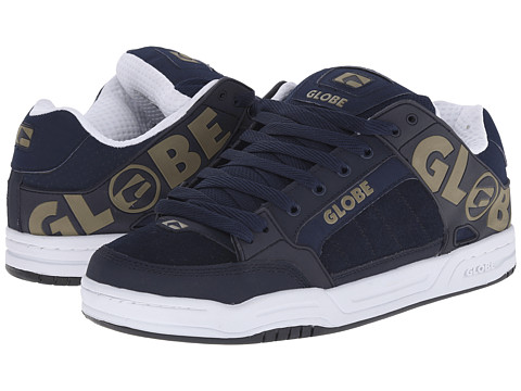 Globe - Tilt (Navy/Olive) Men's Skate Shoes
