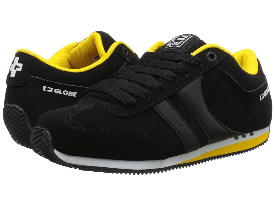 Globe - Pulse (Black/Yellow) Men's Skate Shoes