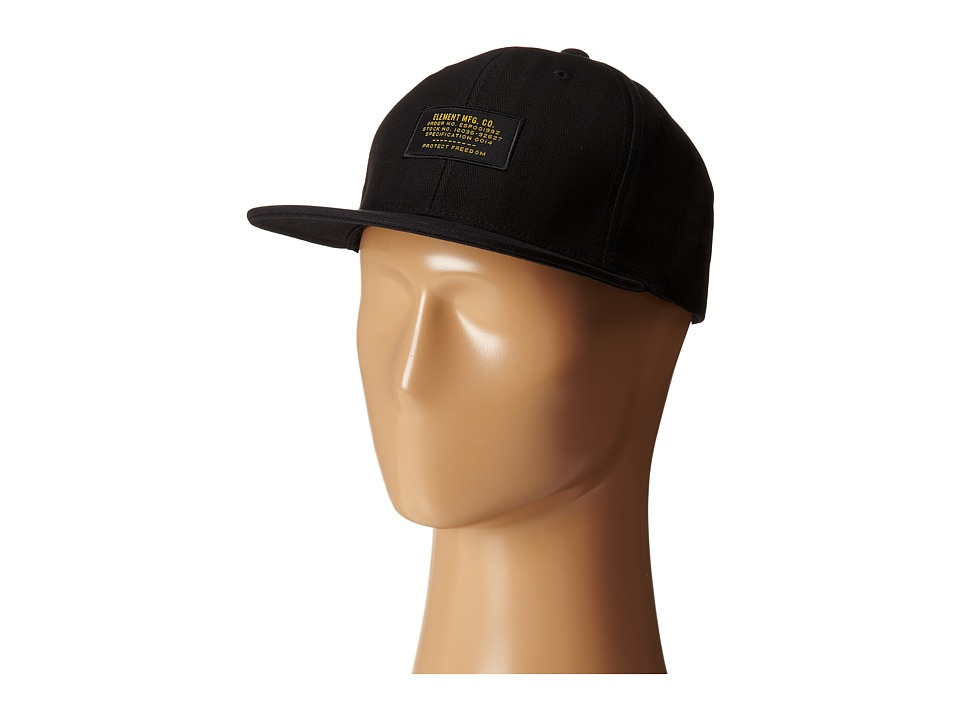 Element - Mason (Black) Baseball Caps
