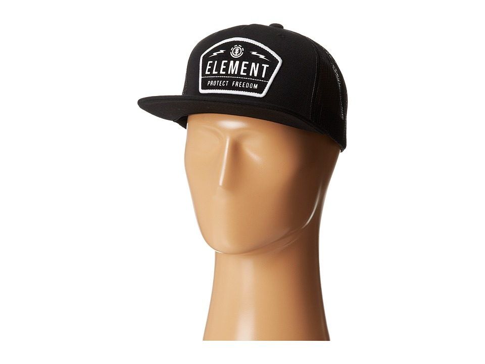 Element - Protect (Black) Baseball Caps
