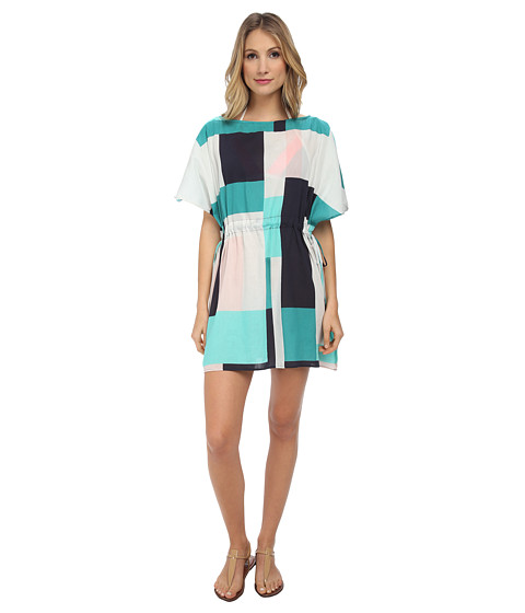 Kate Spade New York - Mykonos Color Block Pull-Cord Dress (Fremont) Women