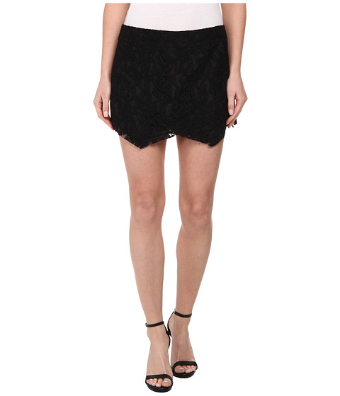 kensie - Luxurious Lace Skort KS4K1191 (Black) Women's Skort