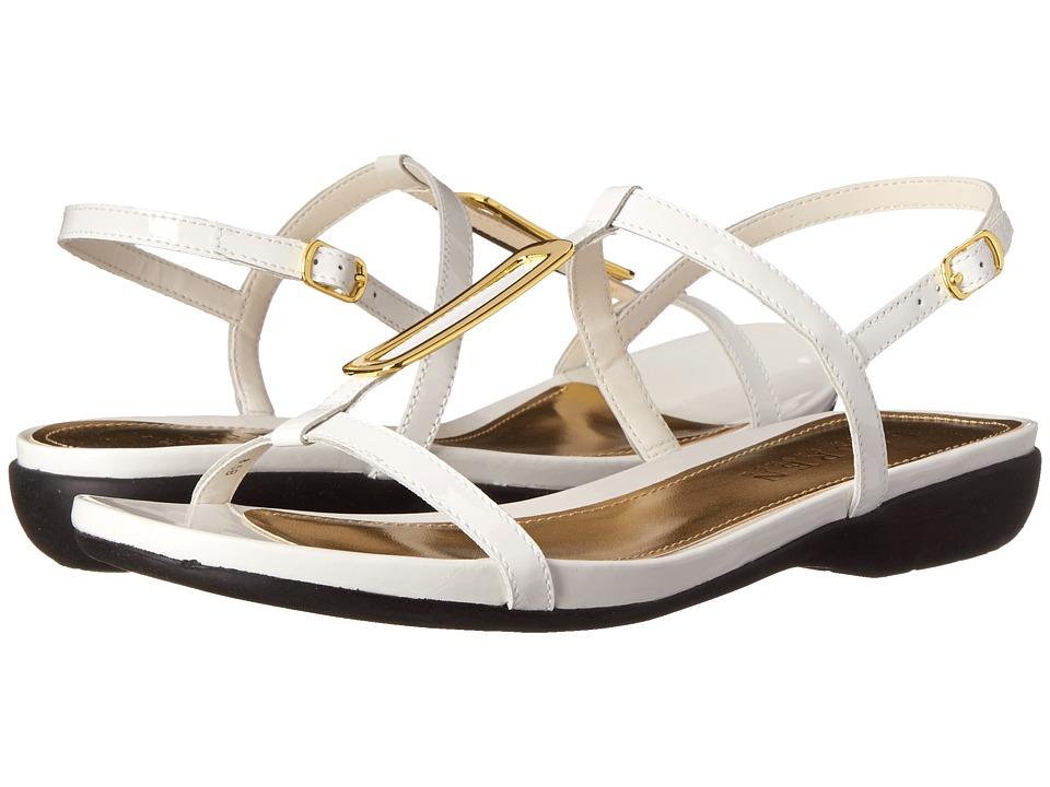 LAUREN by Ralph Lauren - Kat (RL White Patent) Women's Sandals