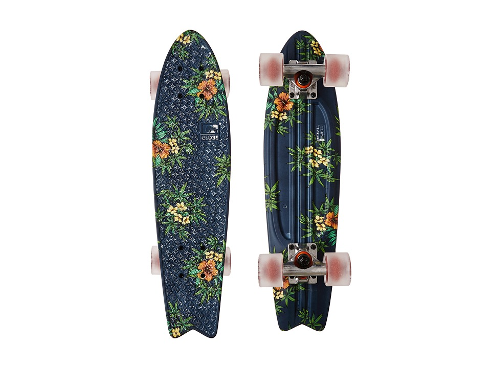 Globe - Bantam ST Graphic (Navy/Highbiscus) Skateboards Sports Equipment