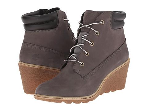 Timberland - Earthkeepers Amston 6 Boot (Dark Grey Nubuck) Women