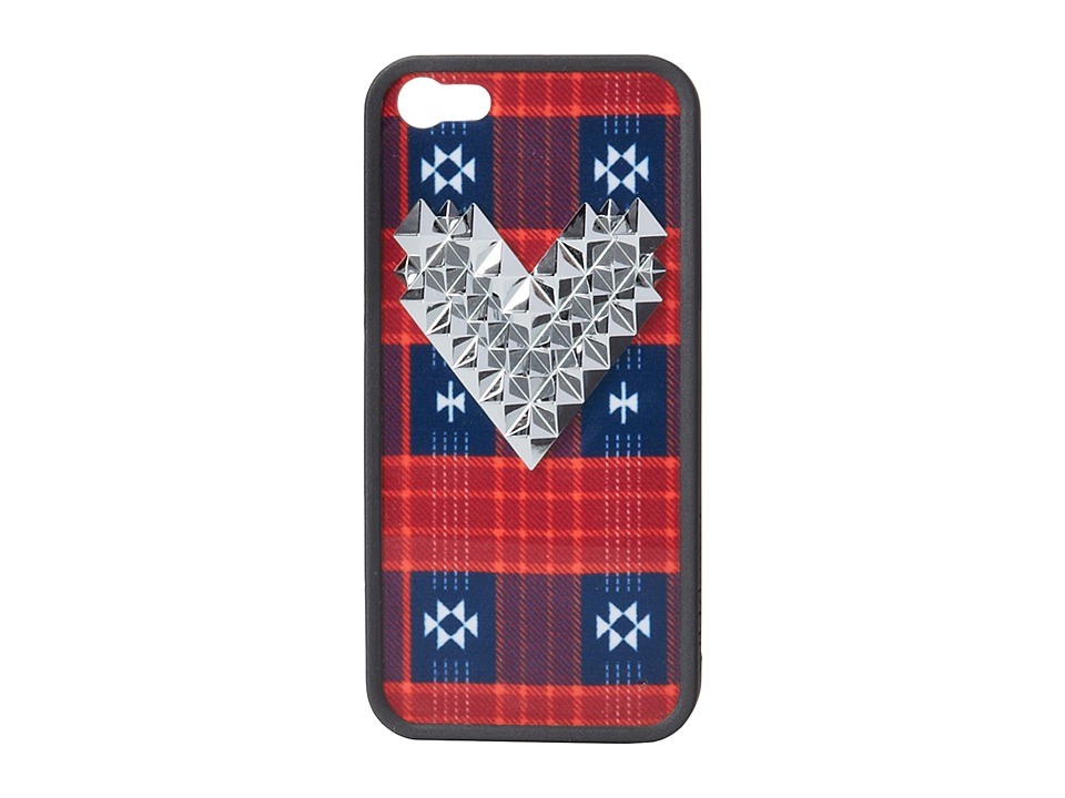 Element - Wild Plaid (Red) Cell Phone Case