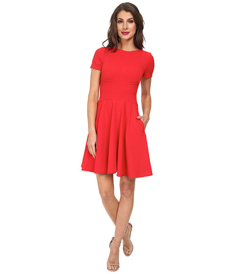 julia jordan - Bullet Knit Dress (Red) Women's Dress