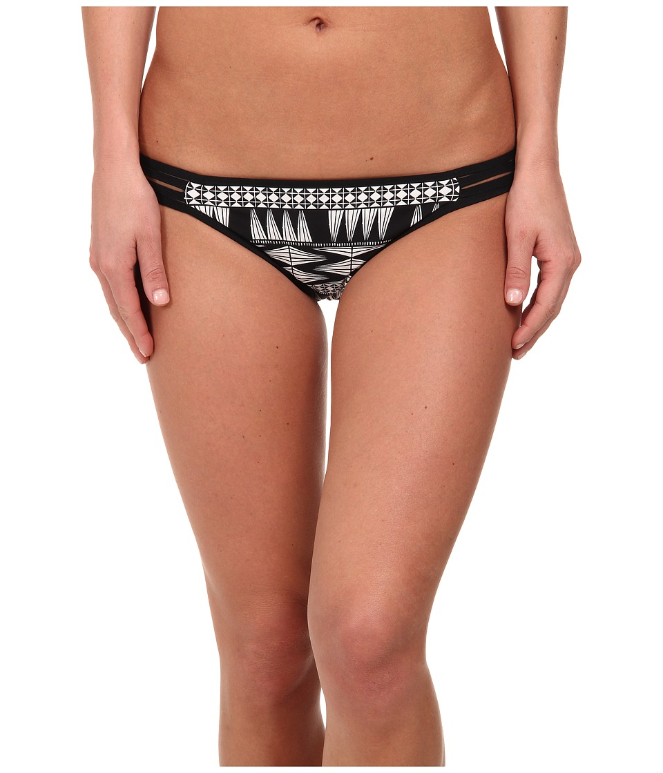 Seafolly - Future Tribe Hipster (Black/White) Women's Swimwear