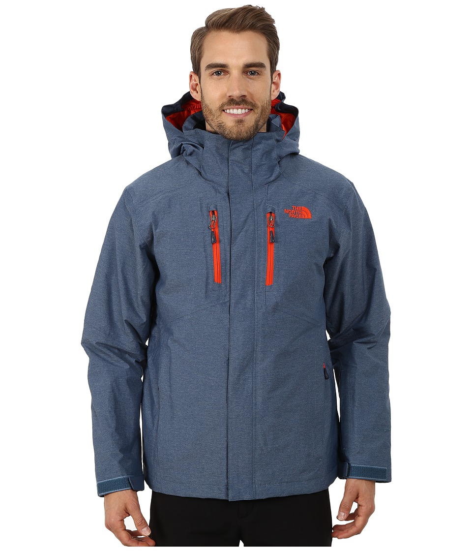 The North Face - Straight-Shot Jacket (Diesel Blue) Men's Coat