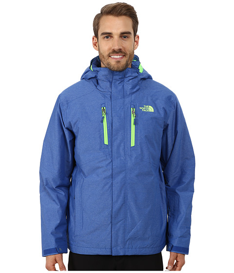 The North Face - Straight-Shot Jacket (Monster Blue) Men's Coat