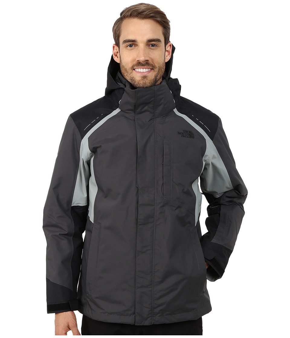The North Face - Vortex Triclimate Jacket (Asphalt Grey/TNF Black/Monument Grey) Men's Coat