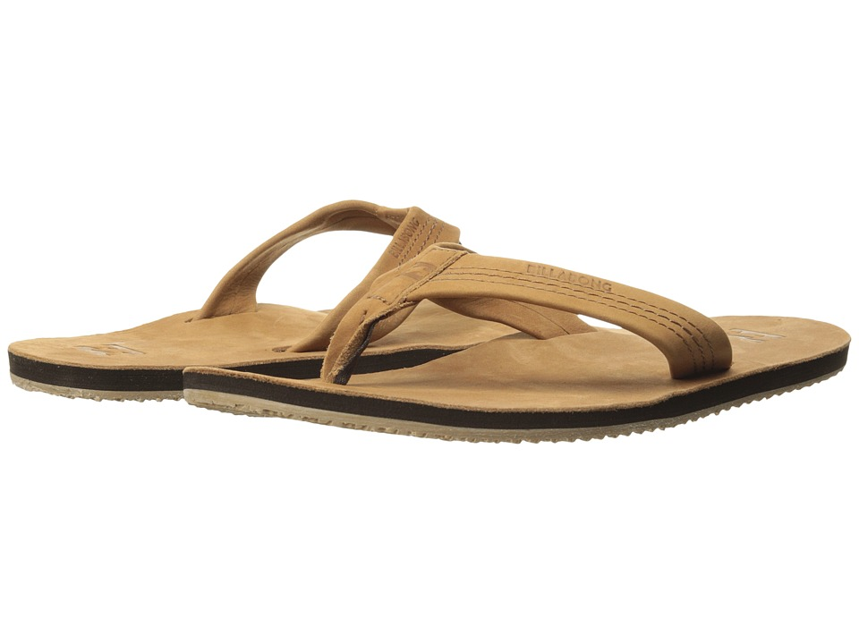 Billabong - All Day-Leather (Honey) Men's Sandals