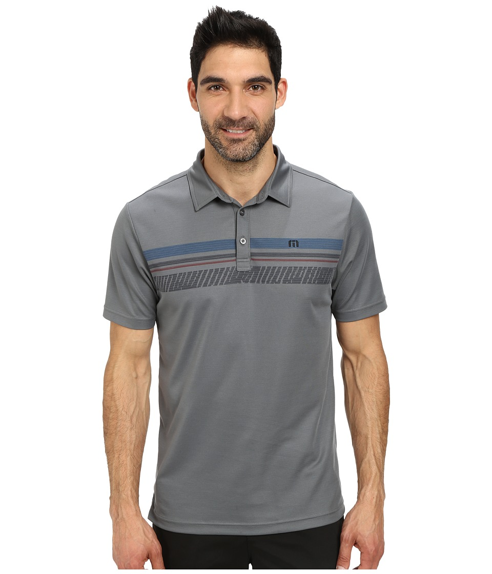TravisMathew - Denum (Grey) Men's Short Sleeve Knit