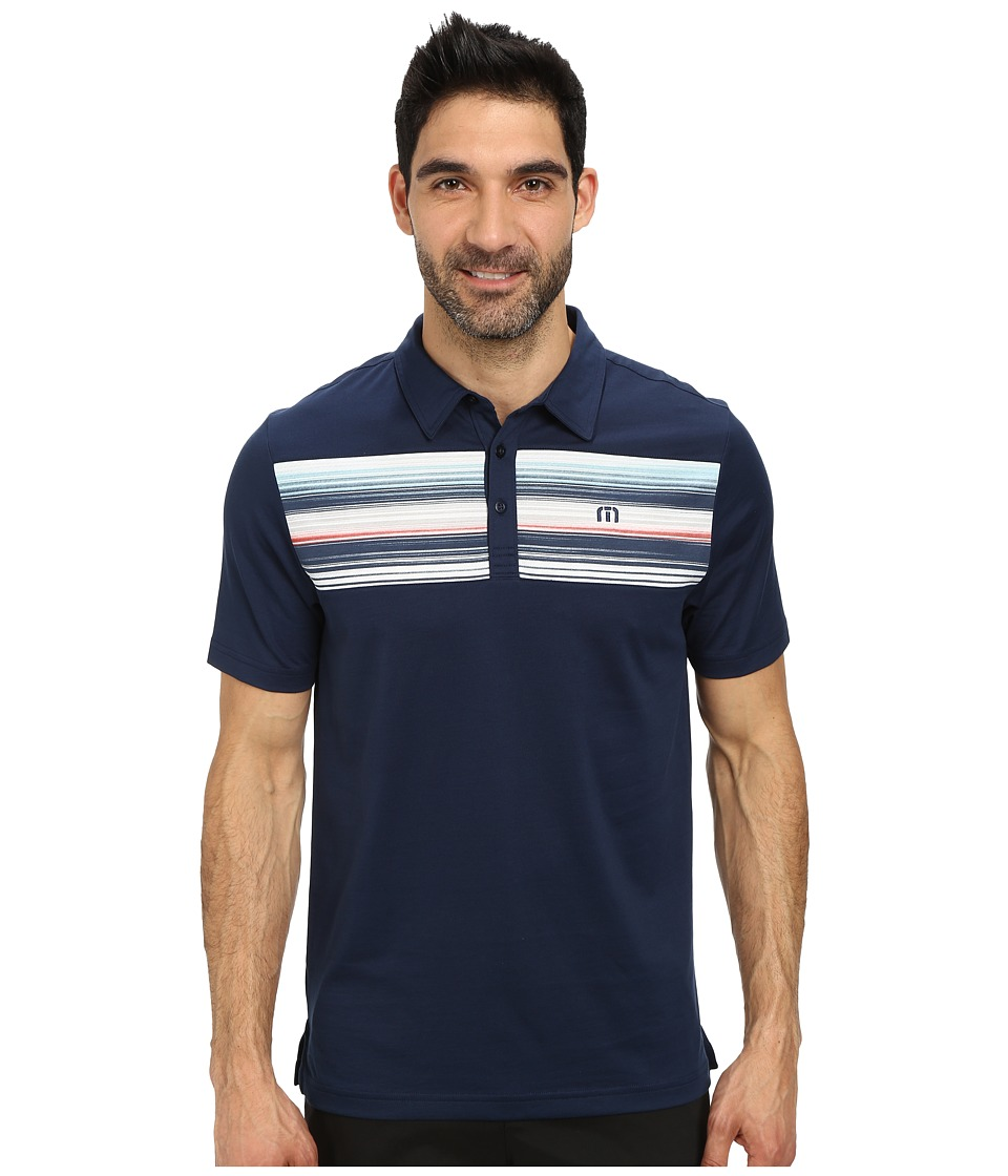 TravisMathew - Sierak (Iris) Men's Short Sleeve Knit