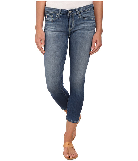 AG Adriano Goldschmied - The Stilt Crop in 13 Years Solitude (13 Years Solitude) Women's Jeans