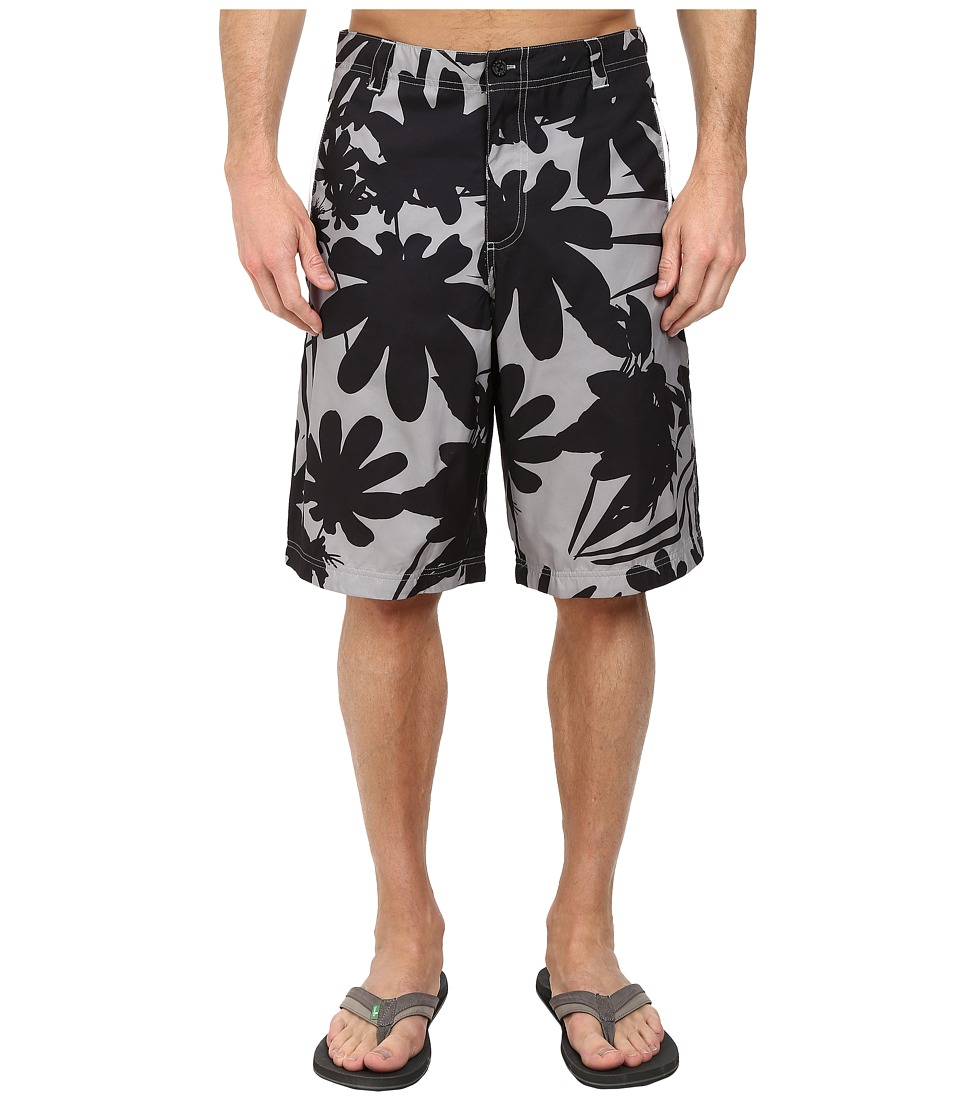 PUMA - Woven Bermuda Short (Limestone Gray/Floral) Men's Shorts