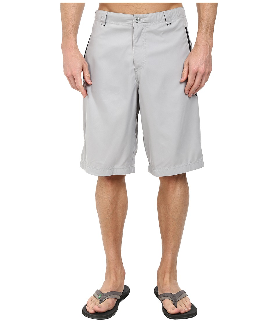 PUMA - Woven Bermuda Short (Limestone Gray/Black) Men's Shorts
