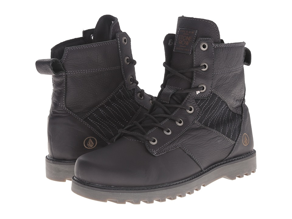 Volcom - Hemlock Boot (Black) Women's Lace-up Boots