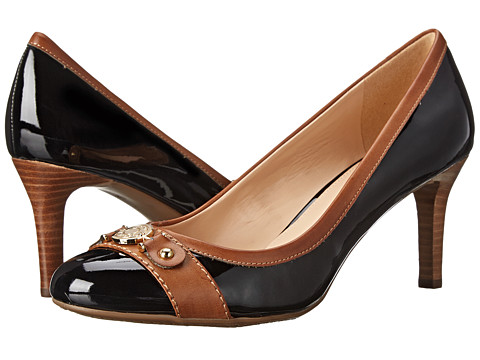 Footwear-Tommy Hilfiger Kaprice (Black Luggage) High Heels