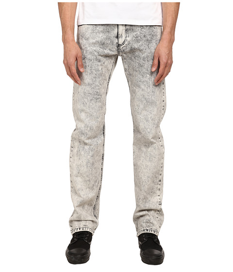 Versace Jeans - Acid Washed Slim Denim (Black Acid Wash) Men's Jeans