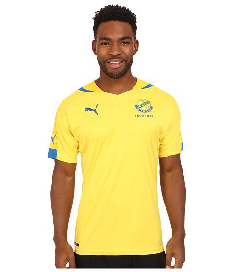 PUMA - Gabon Home Shirt Replica (Dandelion/Puma Royal) Men