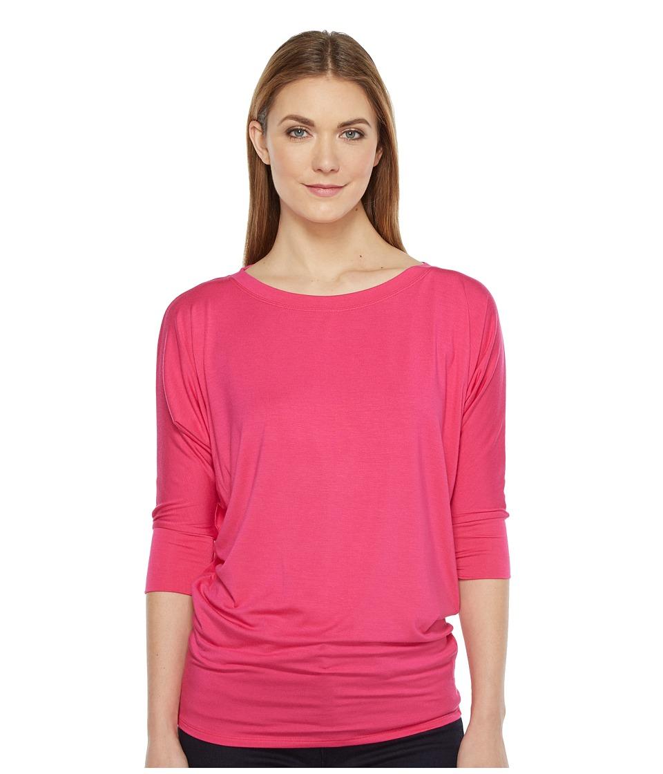 Culture Phit - Lara Modal Top (Fuchsia) Women's T Shirt