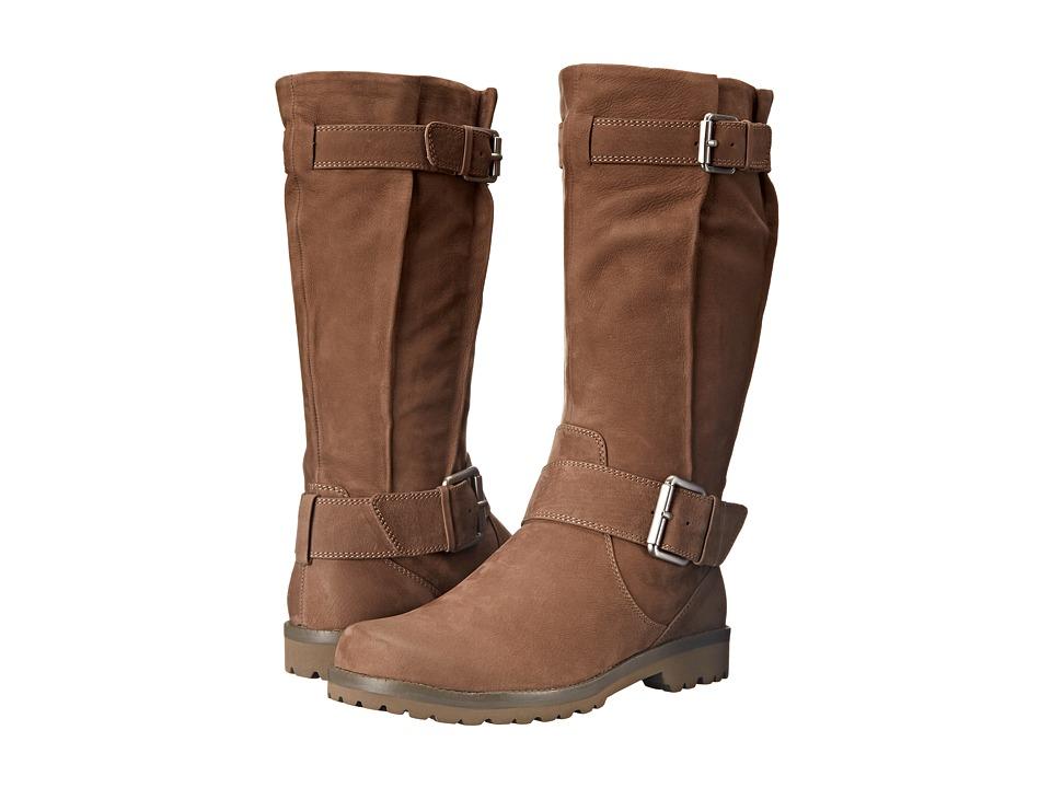 Gentle Souls - Buckled Up (Mushroom Nubuck) Women's Dress Zip Boots