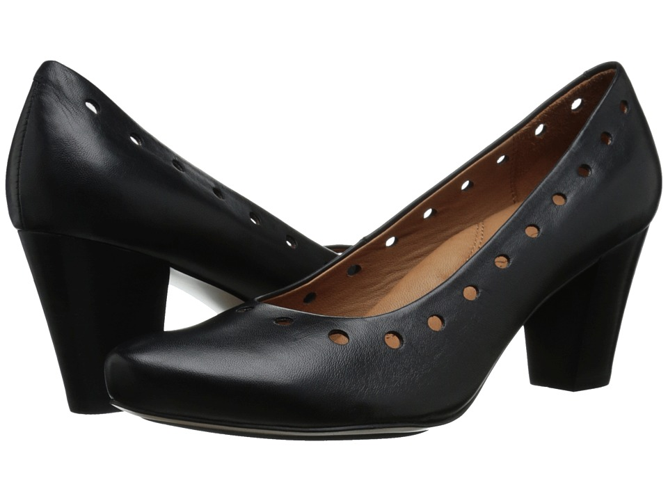 Gentle Souls - Reno (Black Leather) High Heels