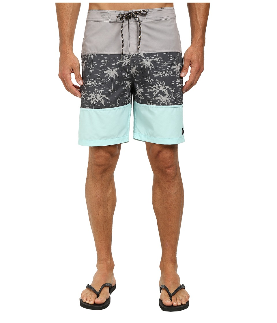 Rip Curl Caught Up Boardwalk Shorts (Grey) Men
