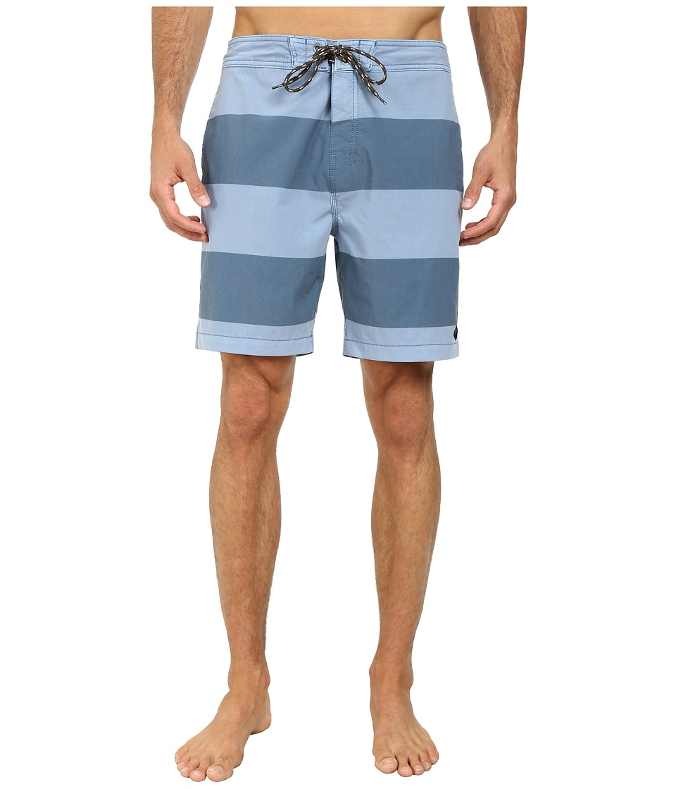 Rip Curl - Departed Boardwalk Shorts (Blue) Men's Shorts
