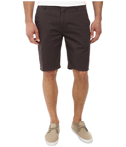 Rip Curl - Epic Stretch Chino Walkshorts (Charcoal) Men