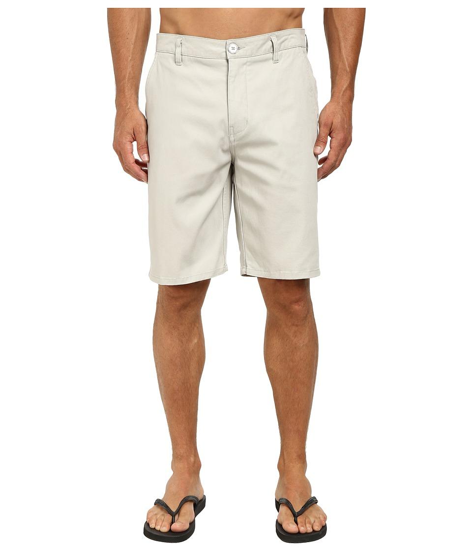 Rip Curl - Epic Stretch Chino Walkshorts (Light Grey) Men's Shorts