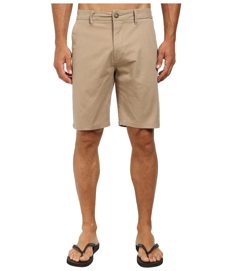 Rip Curl - Epic Overdye Walkshorts (Khaki 1) Men's Shorts