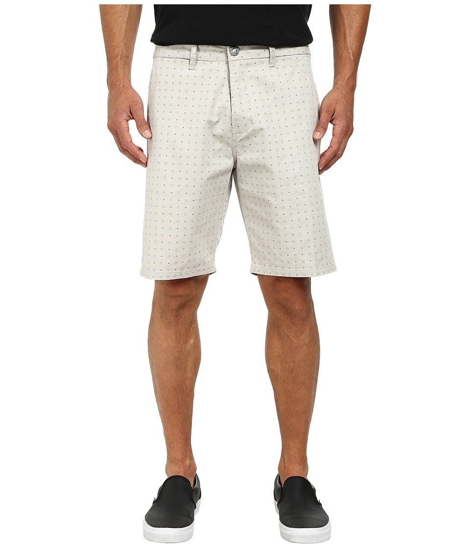 Rip Curl Epic Overdye Print Shorts (Light Grey) Men