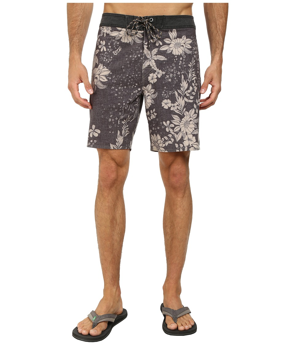 Rip Curl - La Haina Boardwalk Shorts (Black) Men