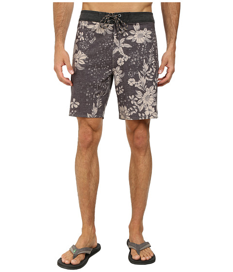 Rip Curl - La Haina Boardwalk Shorts (Black) Men's Shorts